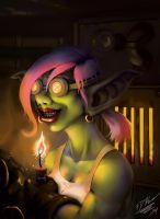 Goblin Engineer by DeathKnightCommander