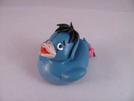 Eeyore Duck by spongekitty