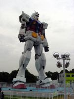 Gundam in Odaiba_1 by y-nrmt
