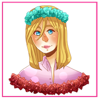 :SnK: Flower Crown Christa by Tangwi