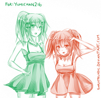 :Commish: Yumichan216 by SimplyMelodic