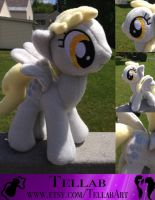 Derpy Plushie by TellabArt