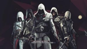 Assassins Creed Wallpaper by mastersebiX