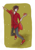 QD- Marshall Lee by LiniAriva