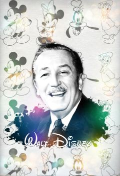 Walt Disney: Pop Art by hrtlsangel