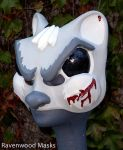 Dead Squirrel mask by Alyssa-Ravenwood