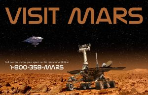 Visit Mars by AmblingPhotographer