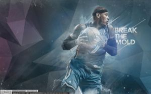 Carmelo Anthony Knicks Wallpaper by Angelmaker666