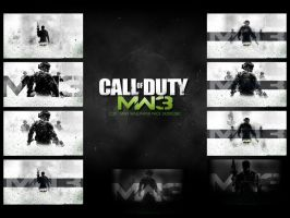 Call Of Duty: MW3 - Wallpaper Pack by DesignsByTopher