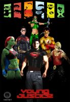 Young Justice by ChopArt2012