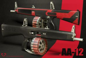 AA-12 Automatic Shotgun by TheBadPanda2