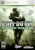 Call of Duty 4 XBOX 360 by Schultzy0023
