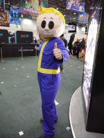 Vault Boy approaves MCM Oct '12 by KaniKaniza