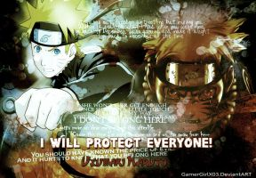 Uzumaki Naruto - Wallpaper by GamerGirlX03