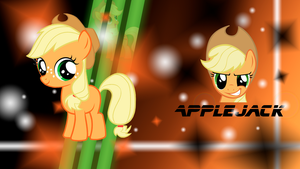 Applejack Wallpaper by D-SixZey