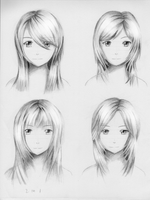 Female hairstyle practice 3 by ShenGoDo
