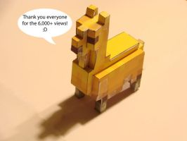 The 6000 Views Llama by scottyhood