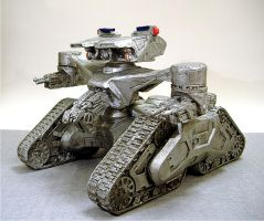 Hunter Killer Tank by RavenFeast