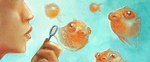 Bubble fishs by Pendalune