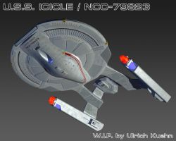 USS ICICLE / NCC-79823 W.I.P.-094 Textures by ulimann644