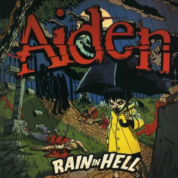 AIDEN Rain In Hell CD Cover by TheCucoKing