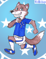Mascot Cruzeiro by WILLYTEMPELDELEO