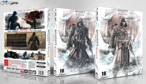 Assassin's Creed Rogue Box Art by irancover