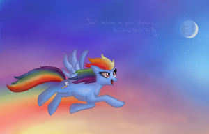 Rainbow Dash by RainbowSpine