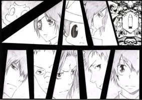 Vongola Family by d0ubl2