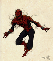 Spidey is Back ! by FredSkin