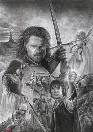 The Lord of the Rings by D17rulez