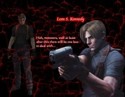 Leon S. Kennedy by insaneRay