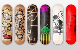Skate Decks by Scott-Windon