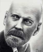 Bruce Willis 2 by Doctor-Pencil