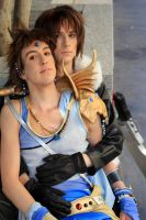 Ridin' a Dream Squall X Bartz cosplay by Detailed-Illusion