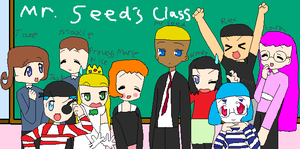BW Weevil Squad: Marie's Class by Emilythebrawler