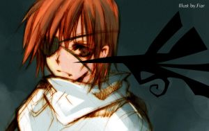 D.Gray-Man :: Little Lavi by zefiar