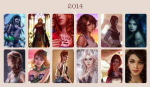 Art summary 2014 by Zolaida