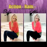 Action- Rain.- by ann483