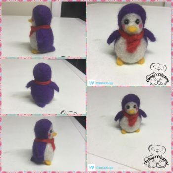 Fuzzy penguin x by ChrissyCreations