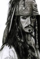 Captain Jack Sparrow II by lucky-your-with-amy