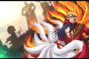 Nine-Tailed Love by TheBookofGenesis