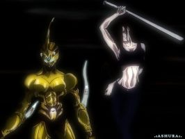 Guyver female Final by llAshurall