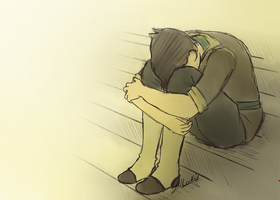 Legend of Korra: Please don't cry by GioFD