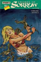 Swords of Sorrow #4 variant cover by RobertHack