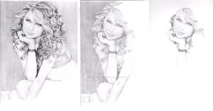 Taylor Swift Stages by DarkGirlDrawings