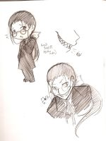 BB- Doodlebook Grell by HoneyAppleNinja