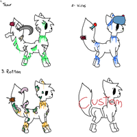 Spirit Cat Adopts - #2 {OPEN} by Lithekitty1235