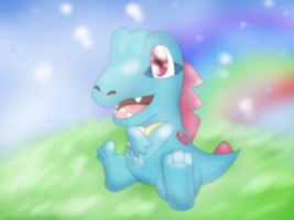Totodile Kawaii n.n by DarkraDx