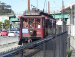 Pacific Electric No. 500 at World Cruise Terminal by omega-steam